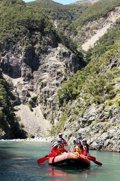 Ngaruroro River Rafting