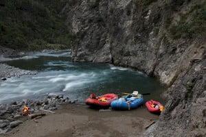 rafting on the ngaruroro river, hawkes bay