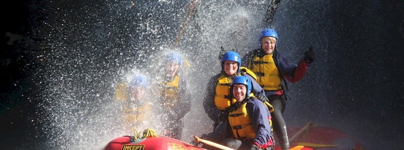 Best white water rafting trips in New Zealand