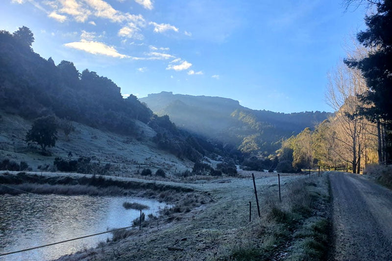 Winter, and the Flow of Months at River Valley
