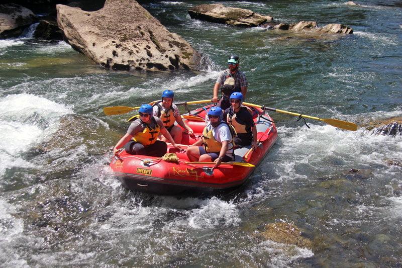 the epic rangitikei - multiday rafting