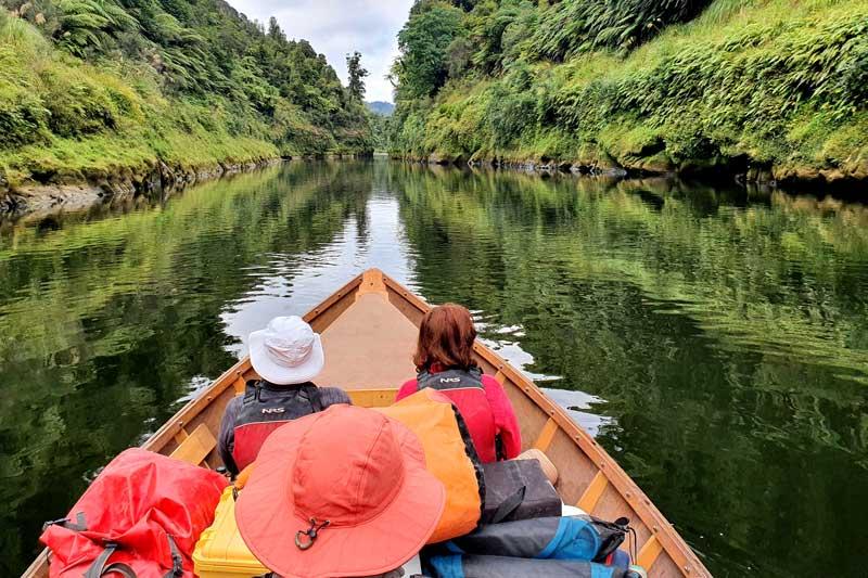Dory Trip on the Whanganui River